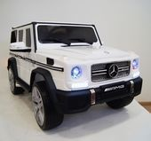 Электромобиль MERCEDES-BENZ-G65-AMG-WHITE