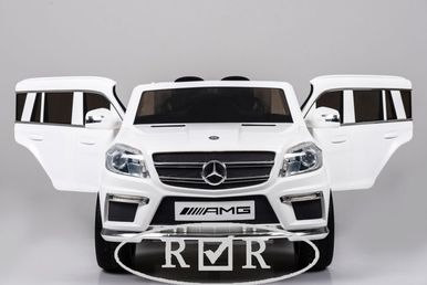 Электромобиль Mercedes-Benz GL63(LS628)-WHITE 4