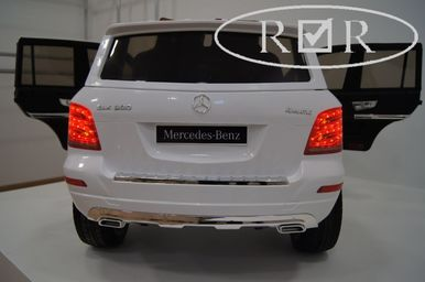 Электромобиль Mercedes-Benz GLK300-WHITE 9