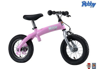 Велобалансир+велосипед Hobby-bike RT original pink aluminium   2