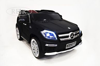 Электромобиль Mercedes-Benz GL63-BLACK-MATT 6
