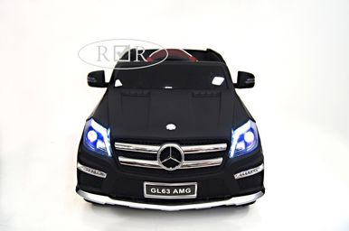 Электромобиль Mercedes-Benz GL63-BLACK-MATT 2