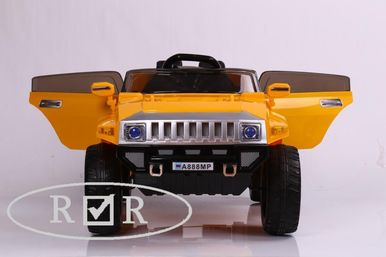 Электромобиль Hummer A888MP-YELLOW 4