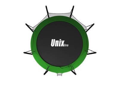 Батут UNIX line 8 ft inside blue and green 2
