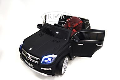 Электромобиль Mercedes-Benz GL63-BLACK-MATT 1