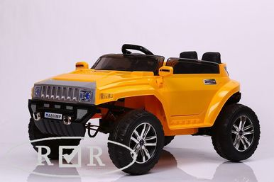 Электромобиль Hummer A888MP-YELLOW 6