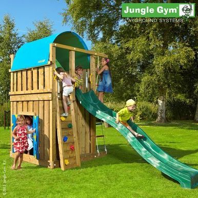 Детские городки Jungle Villa+Playhouse Module