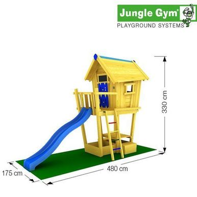 Детские городки Crazy Playhouse CXL +SwingModule Xtra  1