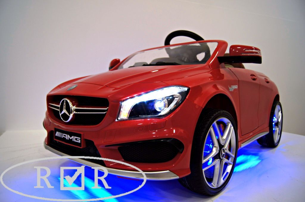 Электромобиль Mercedes-Benz A777AA-RED