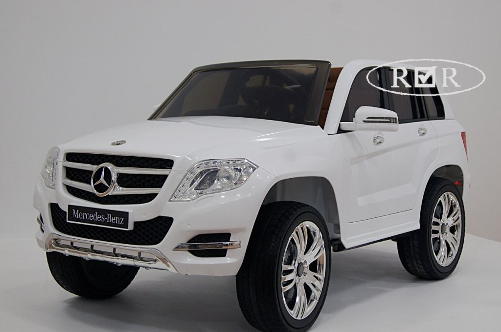Электромобиль Mercedes-Benz GLK300-WHITE