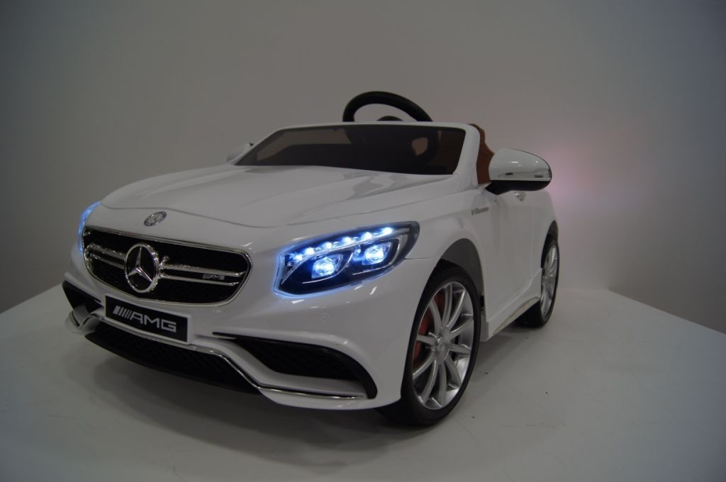 Электромобиль Mercedes-Benz S63-WHITE