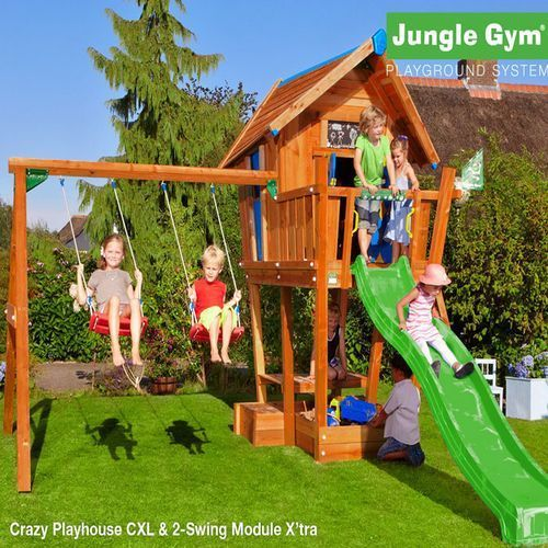 Детские городки Crazy Playhouse CXL +SwingModule Xtra